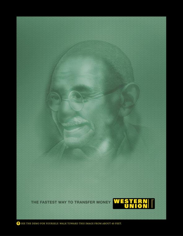western union money transfer western union demo posters 1 of 3 franklyn gandhi mccann worldgroup ind